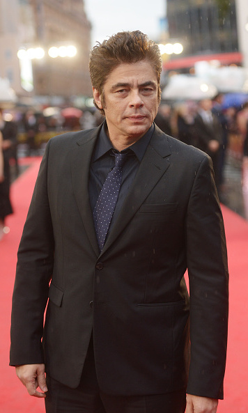 <em>Sicario</em> actor Benicio Del Toro.