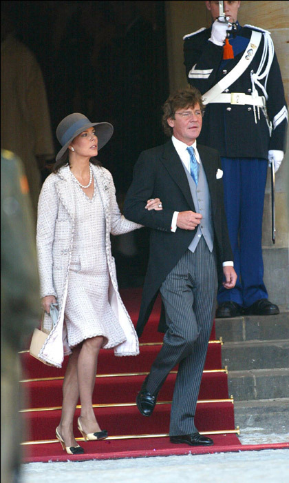 As did Princess Caroline of Monaco and her husband Prince Ernst August of Hanover.