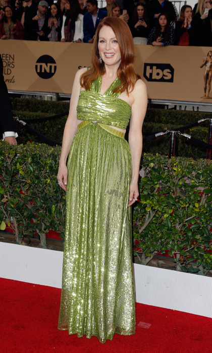Last year's Best Actress winner Julianne Moore. 