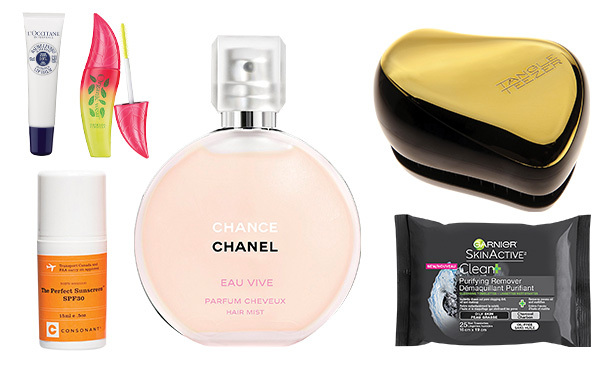Stow these beauty essentials in your locker, purse or gym bag for an instant pick-me-up before and after your workout!