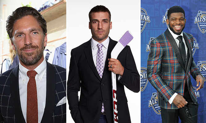 Thanks to their killer looks, perfect smiles and charismatic personalities, these hot NHL stars have no problem skating their way into the hearts of admirers around the world. Here, we round up 10 of hockey's most gorgeous men, who really should be sent to the penalty box for looking so fine.