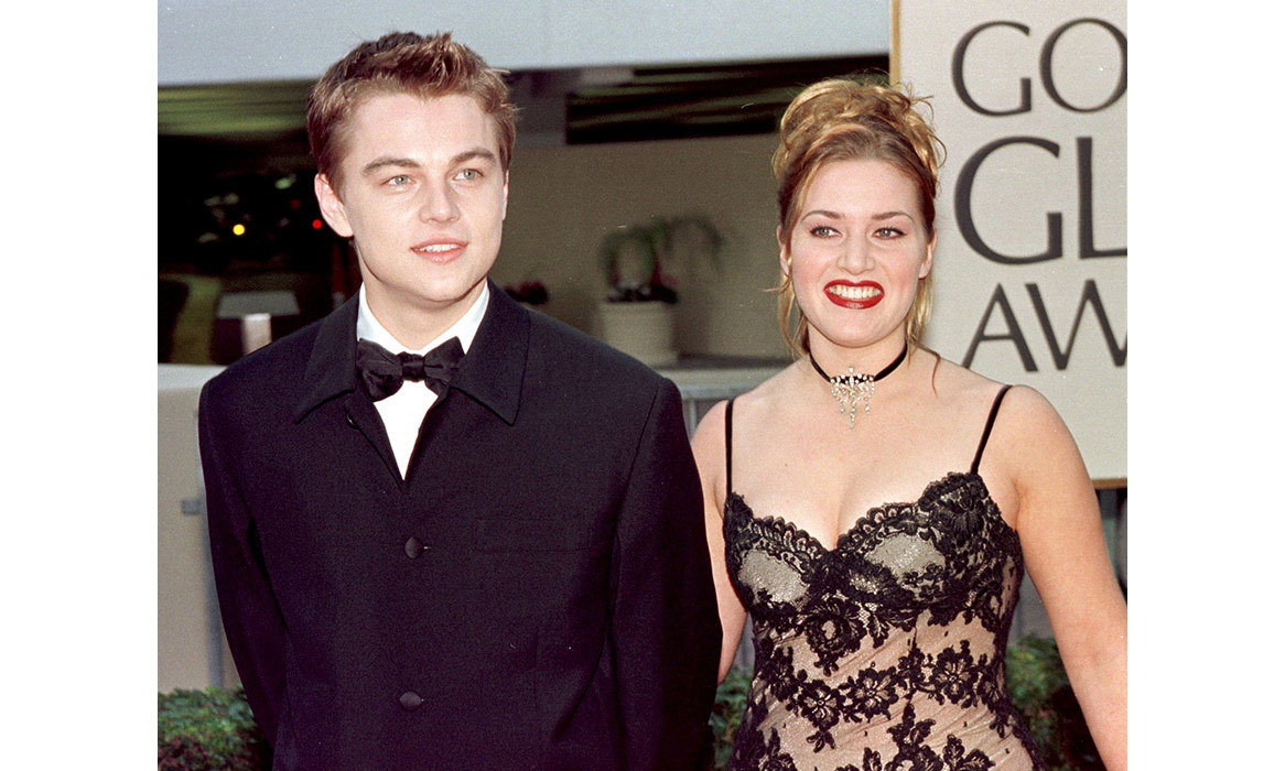 "The co-stars walked the carpet at the 1998 Golden Globe Awards together, where their film <em>Titanic</em> won Best Picture. In 1997, Leo told <em>ET</em>, ""[Kate's] such a terrific person in general that our chemistry naturally happened onscreen. We just like each other as people. As far as doing a love scene, though, we laughed about it a lot.""
