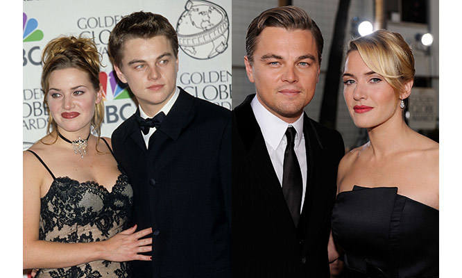 the sweetest moments in leonardo dicaprio and kate winslet