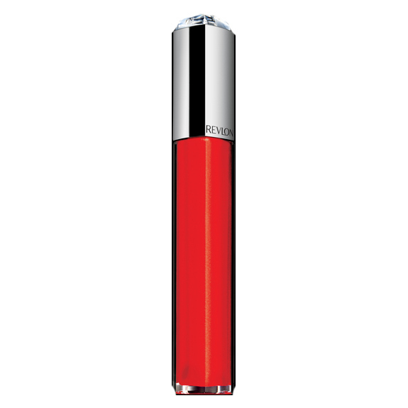 "Revlon Ultra HD Lip Lacquer in HD Fire Opal, $10.99, <a href=""http://www.revlon.ca/products/lips/lip-gloss/revlon-ultra-hd-lip-lacquer#309975309102