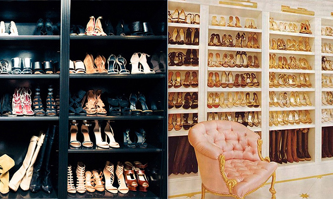 Louboutins, Jimmy Choos and Manolos, oh my! Stars like Chrissy Teigen, Blake Lively and Khloé Kardashian know a thing or two about a well-stocked shoe closet. Click through to see which celebs have taken their love of footwear to a whole new level.