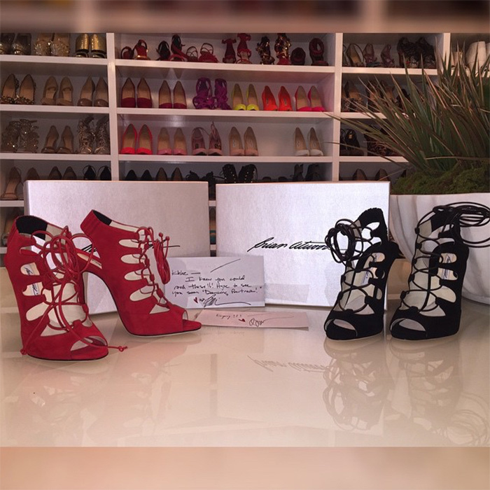 Having the same style of shoe in every colour is a must for Khloé Kardashian, who never steps out unless her footwear game is on point. Like her sisters, the <i>Keeping Up with the Kardashians</i> beauty is shoe obsessed and is a firm believer that a girl can never have too many pairs. 