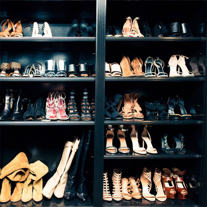 <i>Sports Illustrated</i> model Chrissy Teigen is the proud owner of her very own shoe boutique. And with her shelves overflowing with everything from strappy sandals to suede boots, the author of the new cookbook <i>Cravings</i> serves up some major shoe envy. 
