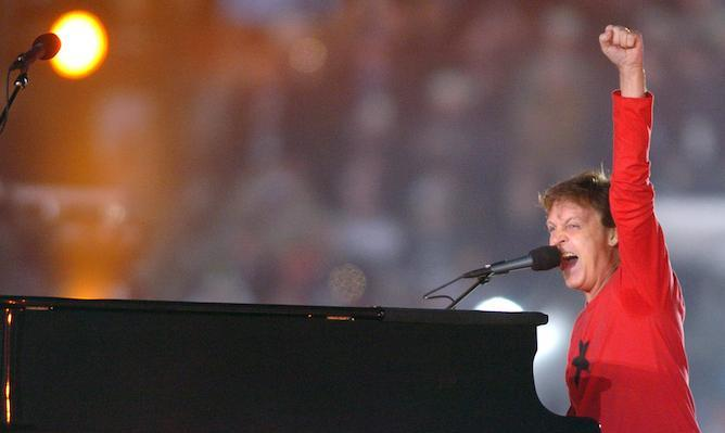 "In 2005, Sir Paul McCartney and his band delivered electrifying performances of his hits, ""Drive My Car,"" ""Get Back,"" ""Live And Let Die"" and ""Hey Jude."" His show was broadcast live in more than 200 countries worldwide."