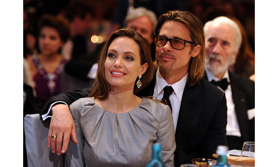 <strong>Angelina Jolie and Brad Pitt