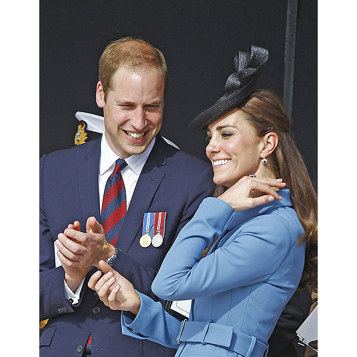 <strong>Prince William and the Duchess of Cambridge