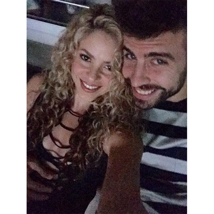 <strong>Shakira and Gerard Piqué