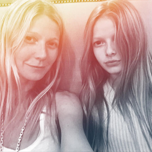 <h2>Gwyneth Paltrow and Apple Martin</h2>