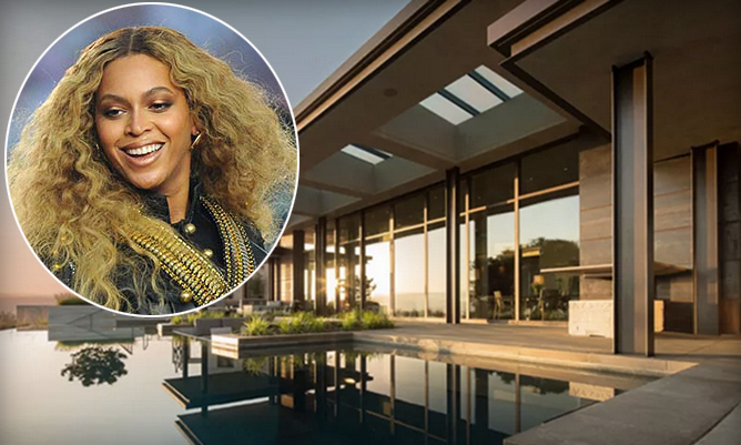 Prior to her show-stopping performance during the halftime show at Super Bowl 50, Beyoncé and her team relaxed at this stunning $10,000-a-night pad in Los Altos Hills. 
