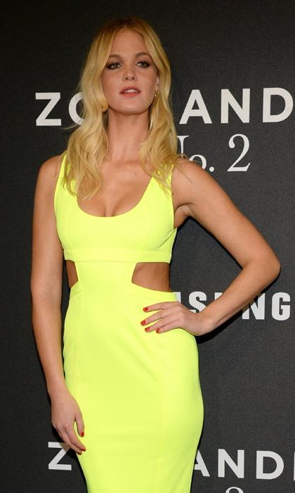 Former Victoria's Secret model Erin Heatherton was in attendance.