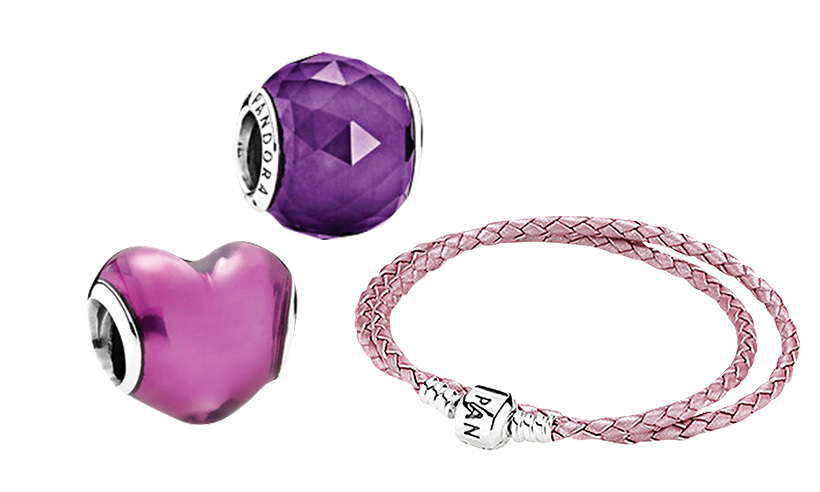 <p><strong>Pandora charms</strong>, from $45<br>