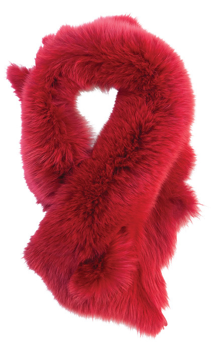 <p><strong>Fox collar in red by Linda Lundström</strong>, $199,
