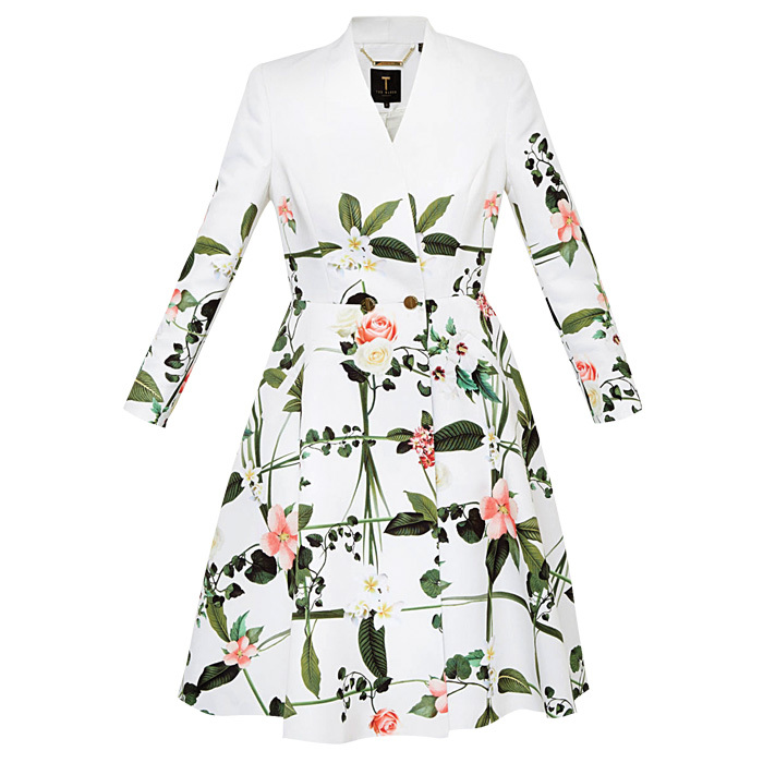<p><strong>Giova Secret Trellis textured coat</strong>, $541,