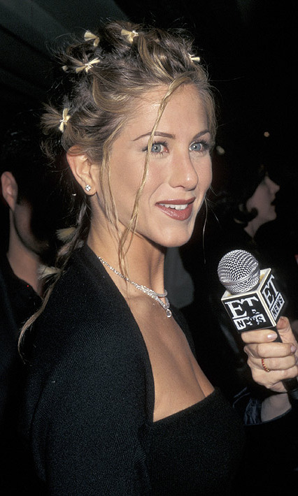 Attending the New York screening of <em>The Object of My Affection</em> in April 1998