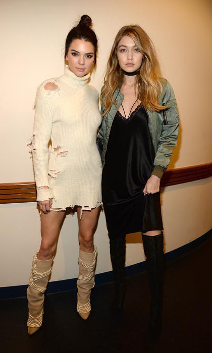 Kendall was joined by BFF Gigi Hadid.