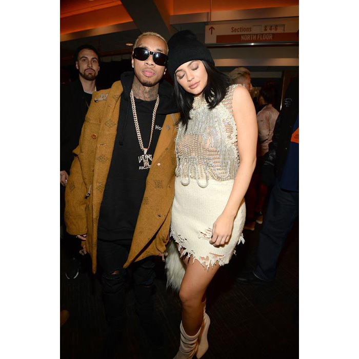 Kylie was joined by boyfriend Tyga.