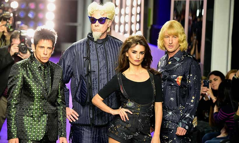The cast of <i>Zoolander 2</i> is so hot right now! Ben Stiller, Will Ferrell, Penelope Cruz and Owen Wilson had some fun at the New York premiere for their new fashion flick by walking the purple carpet in character. 