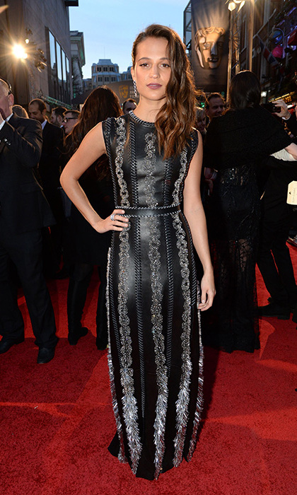 Alicia Vikander in Louis Vuitton.