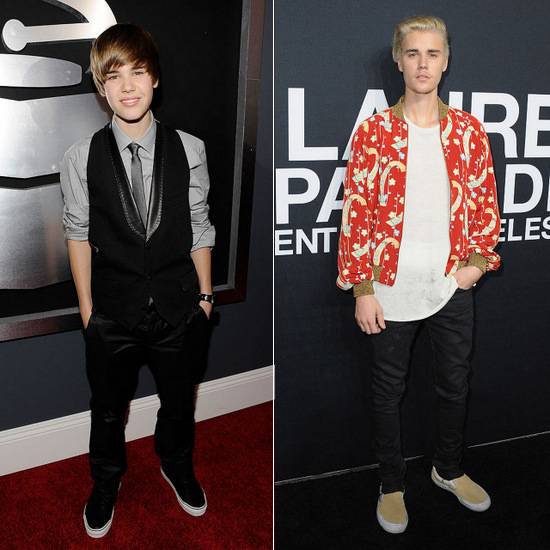 <p>Justin Bieber, 2010</p>
