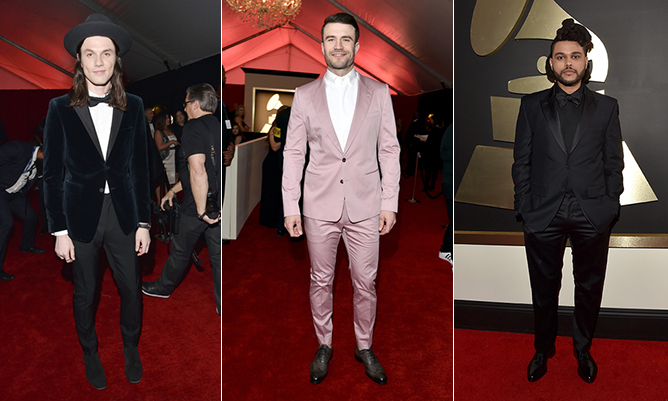 The Most Stylish Men On The Grammys Red Carpet Hello Canada