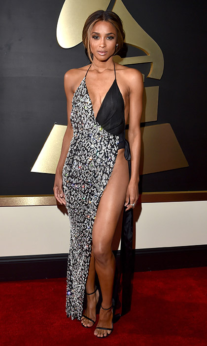 Ciara in Alexandre Vauthier haute couture.