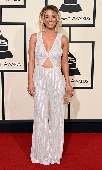 Kaley Cuoco in Naeem Khan.