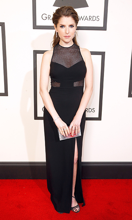 Anna Kendrick in Emanuel Ungaro.