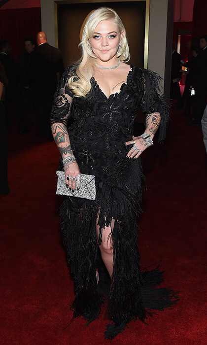Elle King in Christian Siriano.