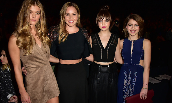 Nina Agdal, Abbie Cornish, Bailee Madison and Sami Gayle at BCBG Max Azria