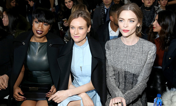 Jennifer Hudson, Diane Kruger and Jaime King at Jason Wu.