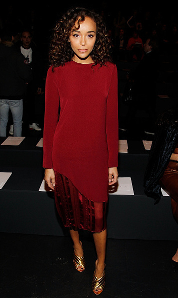 Ashley Madekwe at Prabal Gurung.