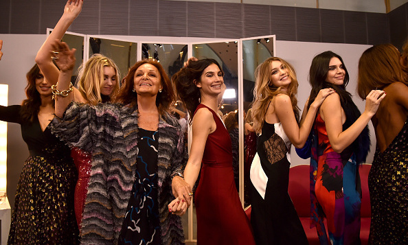Leave it to Diane von Furstenberg to throw a fashion week dance party as her presentation.