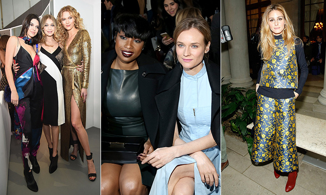 The arrival of February in New York means one thing - it's time to look ahead to fall fashion. Style mavens like Olivia Palermo and Diane Kruger flocked to NYFW to watch in-demand models like Karlie Kloss, Gigi Hadid, Kendall Jenner and more showcase the latest creations by today's top designers.  