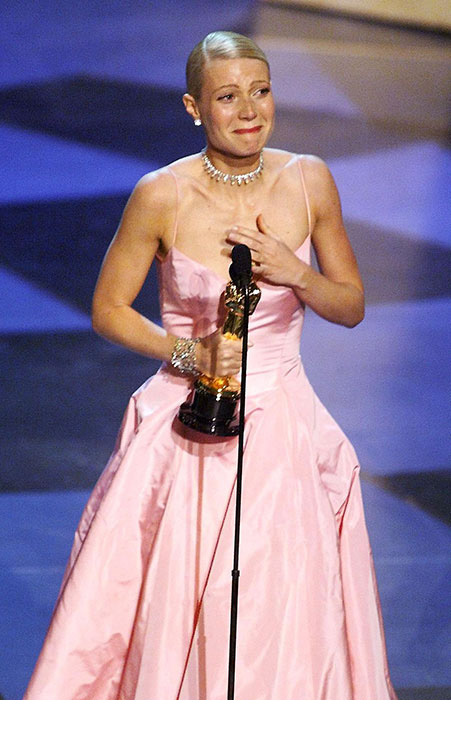<strong>Gwyneth Paltrow's emotional speech</strong>
