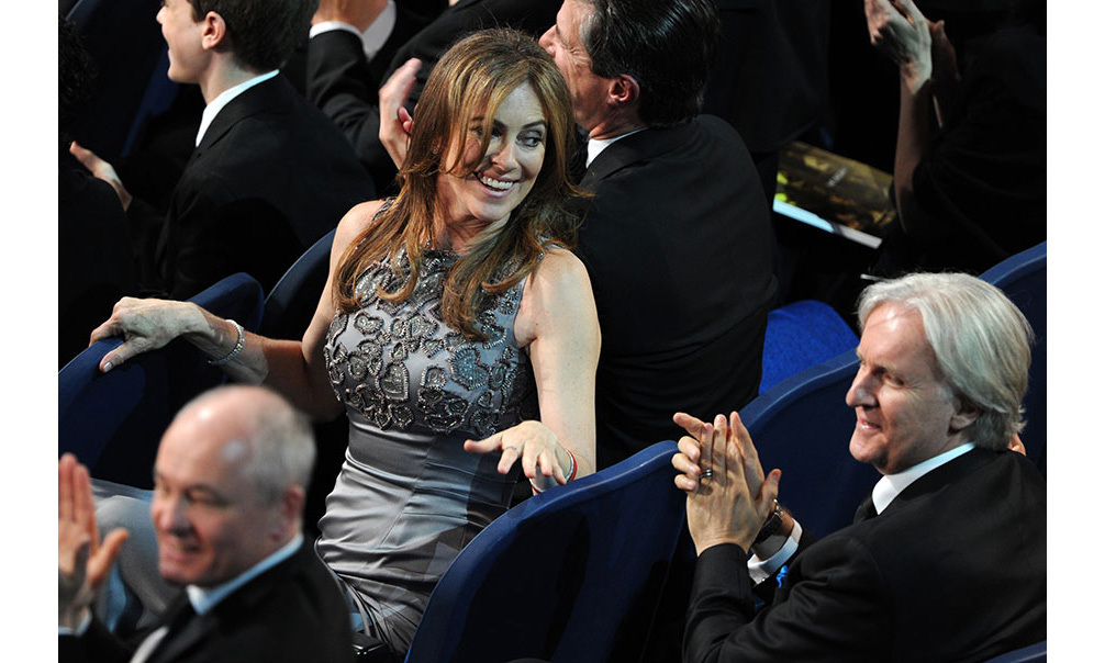<strong>Kathryn Bigelow becomes first woman to win Best Director</strong>