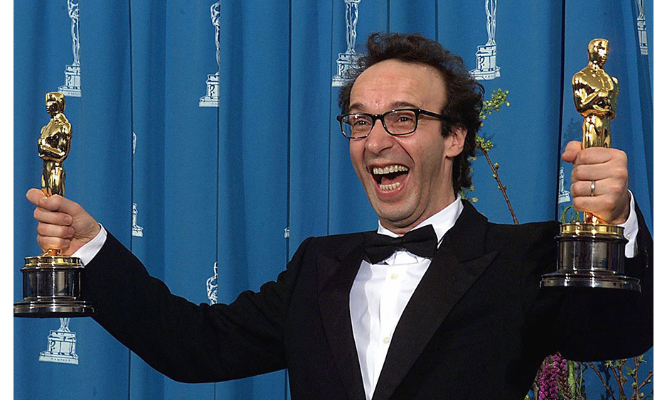 <strong>Roberto Beningni's euphoria</strong>