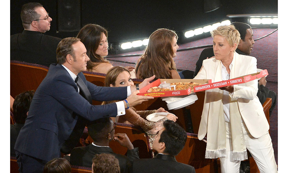 <strong>And she orders pizza...</strong>