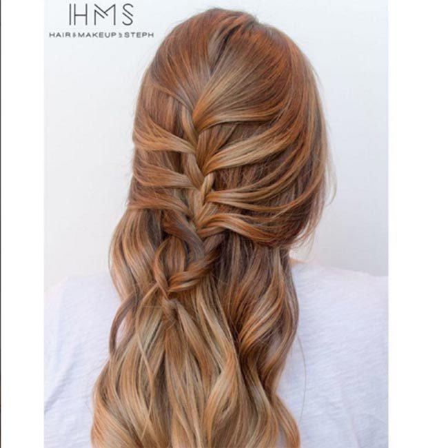 "A braid can make for a stylish daytime look - we love this syle by <a href=""https://www.instagram.com/hairandmakeupbysteph/"" target=""_blank"">@hairandmakeupbysteph</a>.