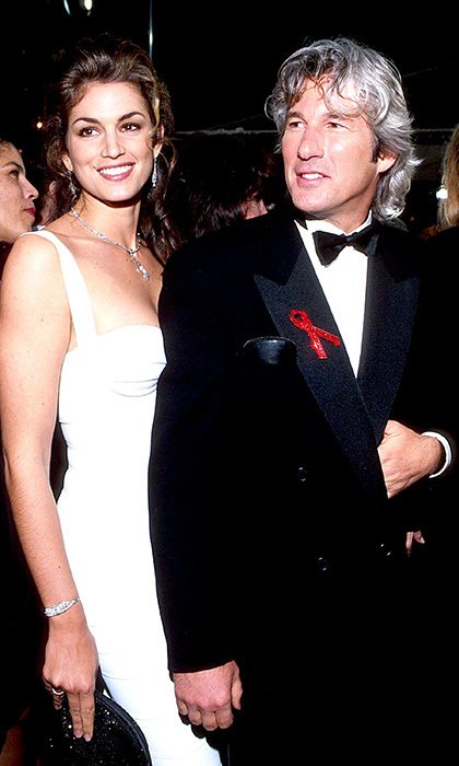 Of course, it's not just Cindy's career that has brought her fame: her two marriages to charismatic men have been noteworthy too. The first, from 1991 to 1995, was to Richard Gere, fresh from the success of <em>Pretty Woman</em> and then the biggest movie star of the day.