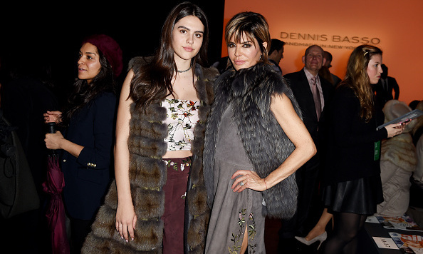 Lisa Rinna and daughter Amelia at Dennis Basso