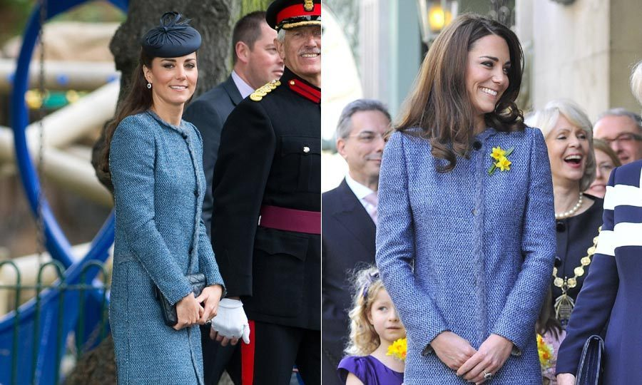 Kate opted for this beautiful Missoni coat for a friend's wedding after slipping it on a few times prior to attend official engagements.