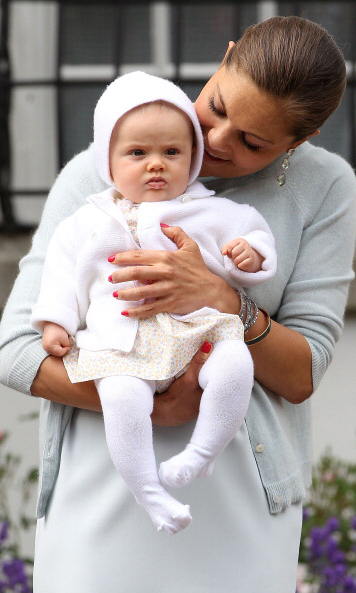 July 2012: Estelle spent some quality photo time with her mom during the first-in-line to the throne's 35th birthday celebration. 