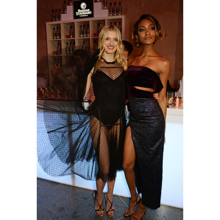 Lily Donaldson and Jourdan Dunn.