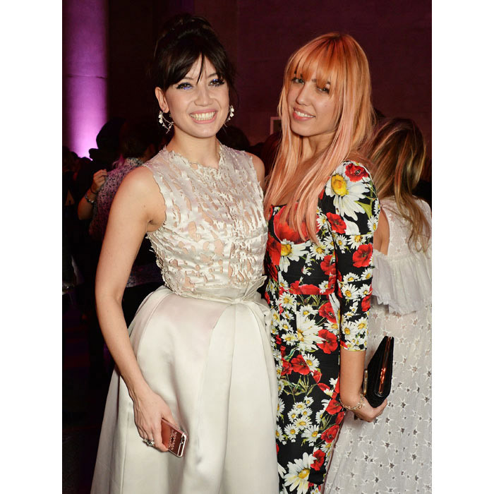 Daisy Lowe and Amber le Bon.