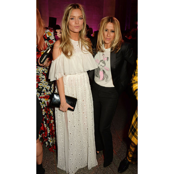 Laura Whitmore and Nicole Appleton.