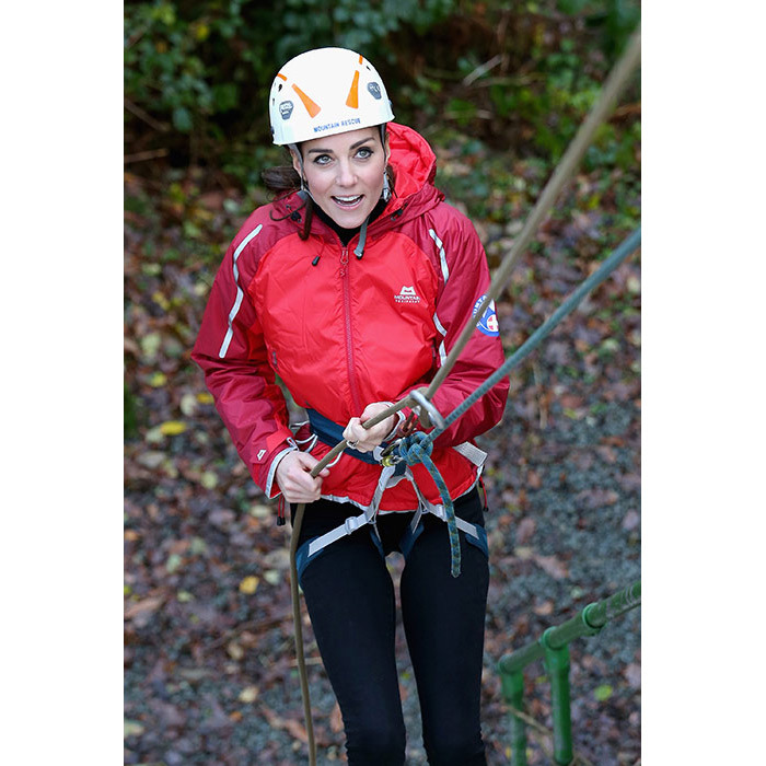 Abseiling during a visit to the Towers Residential Outdoor Education Centre in Capel Curig in 2015.